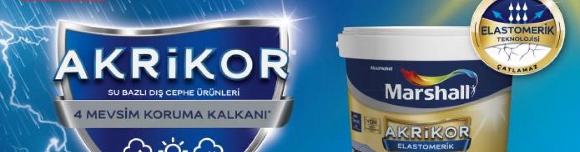15Lt Marşhall Akrilik silikonlu Boya